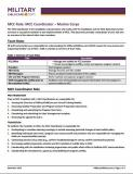 Image of MCC Role: MCC Coordinator - Marine Corps