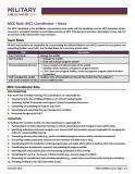 Image of MCC Role: MCC Coordinator - Navy